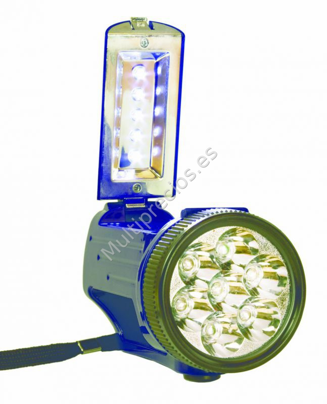 Linterna 7+5 leds lateral 3r6