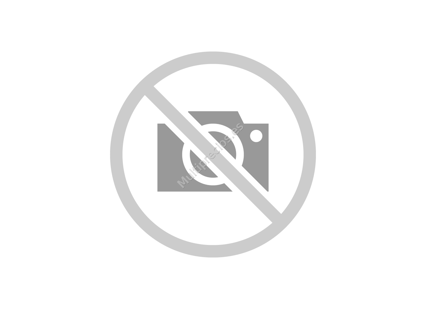 Buzon metal marron 21x30